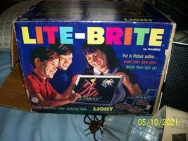 1967 Hasbro LITE-BRITE Complete In Original Box - $50.00