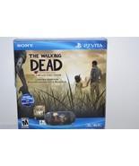 Sony PlayStation PS Vita The Walking Dead Black Handheld 3G Wi-Fi Game S... - $554.39