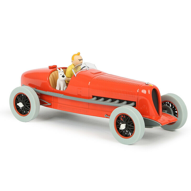 The red bolide 1/24 Voiture Tintin cars Cigars of the pharaoh