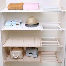 APSOONSELL Ajustable Shelf Closet Storage Rack Organizer, Expandable Clo... - $56.42