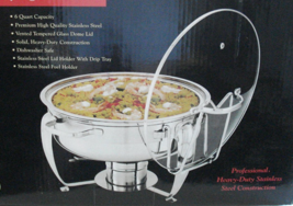 Linens-N-Things 7 Piece 6 qt. Stainless Steel Chafing Dish WITH LID SILV... - $246.80