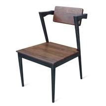 Danish Mid-Century Modern Dining Chair #42 - Unique Iron Frame - $608.85