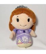 Disney Princess Sofia the First Hallmark Junior Itty Bittys Plush Bean Doll - $8.17