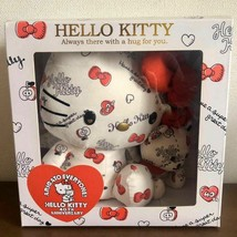 Hello Kitty 40th Anniversary Plush doll Tiny Cham cat face Sanrio made in 2014 - $280.15