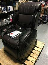 Human Touch Espresso Brown Bali Massage Chair Recliner w Arm Calf + Foot Massage image 4