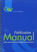 Publication Manual of the American Psychological Association® Associatio... - $26.68