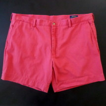 Polo Ralph Lauren Mens Shorts 40 Light Red Classic Fit - $20.71