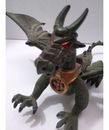 Dragon Toy Figure 8.5 Inches Long Movable Mouth - $45.99