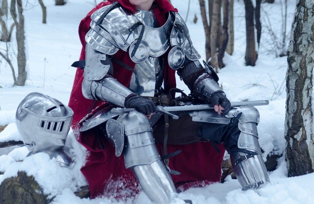 Primary image for Nauticalmart Medieval Larp Knight Wearable Full Suit Of Armor