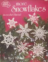16 Crochet Thread Xmas Tree Snowflakes Ornaments Mary Thomas Rita Weiss ... - $11.99