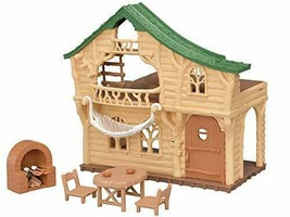 Exciting log house U-Sylvanian Families forest -62 - $53.77
