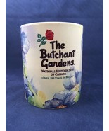 Butchart Gardens Historic Site Canada 100 Years in Bloom Souvenir Mug Bl... - $19.79