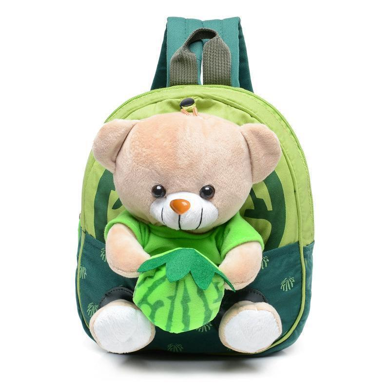c871ea55fa6e S l1600. S l1600. Previous. Baby Cartoon Bear Dolls School Bags Kids Plush  Backpacks Toddler Kindergarten