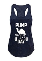 Tough Cookie's Women's Pump Day Gym Workout Burnout Tank Top Large - LF,... - $20.71