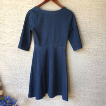 Old Navy XS Denim Look Blue Jersey Dress Cotton Mini - $6.43