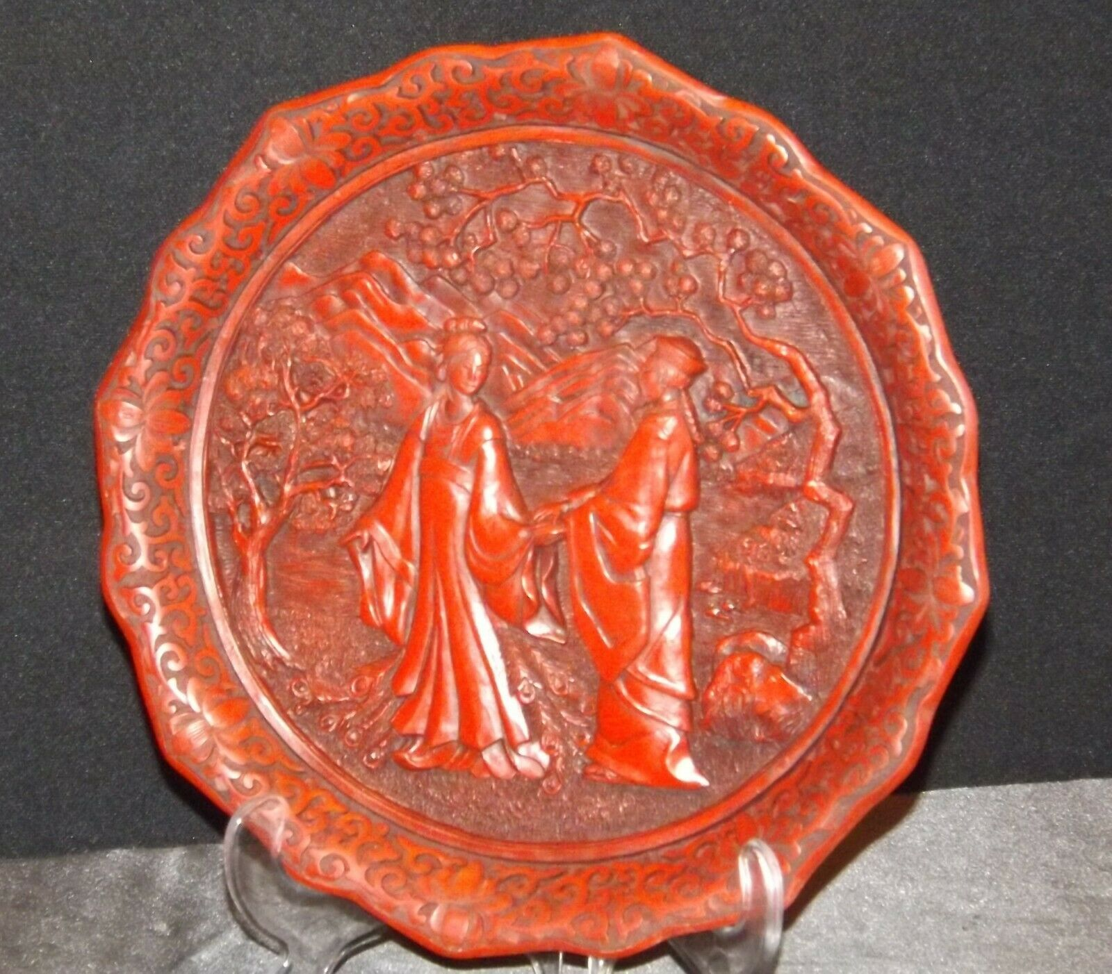 """""""Promise of Love"""" Commemorative Plate by The Ming Dynasty AA20-CP2334 Vintage Ca"""