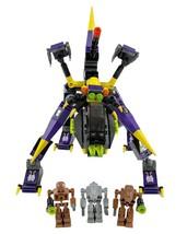 LEGO 8115 Exo Force DARK PANTHER Set - 2008 - Devastator + Iron Drones 100% - $29.39