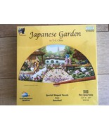 "Japanese Garden 1000 Piece Jigsaw Puzzle Sunsout New Sealed 22"" x 39"" - $39.59"