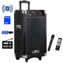 beFree Sound Sleek 10 Inch Professional Portable Bluetooth PA Speaker - $153.85