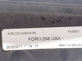 13-18 Ford Taurus Radiator Shutter Complete Assembly w/ Actuator Motor image 10