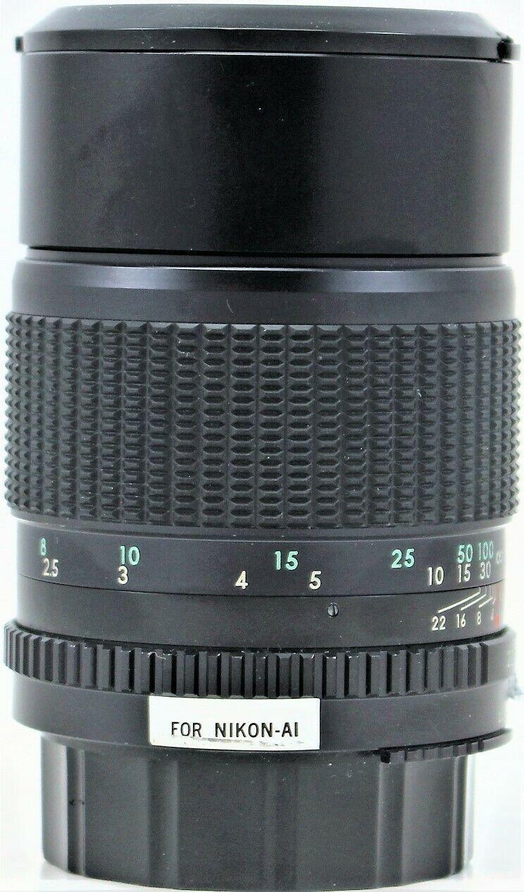 Tamron Multi C F 1:2.8 135mm Camera Lens for Nikon AI With Soft Case