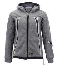 Boys Juniors Athletic Hoodie Sherpa Lined Kids Toddler Sweater Zipper Jacket image 5