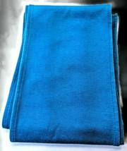 "Scarf/Belt Turquoise Knit-76""long x 6"" Wide B08 - $5.94"