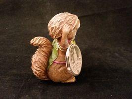 Department 56 Garden Guardians Chester the Chipmunk w Walnut Helmet Twig Spear image 5