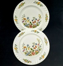 Aynsley Dinner Plate  COTTAGE GARDEN Fine Bone China England Set of 2 - $29.88
