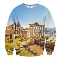 Roman Forum Famous Landscape Sweatshirt - $36.99