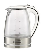 Brentwood Appliances KT-1900W 1.7-Liter Cordless Tempered-Glass Electric... - $47.06