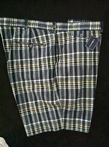 POLO RALPH LAUREN MENS NEW MULTICOLOR 100% COTTON CASUAL SHORTS SIZE 42 - $41.14