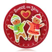 Hallmark Keepsake Ornament Sweet on You Gingerbread Cookie 2014 - $6.93