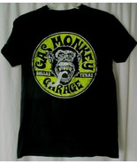 Gas Monkey Garage Dallas Texas Black Yellow T-Shirt Womens Size Medium  - $13.85