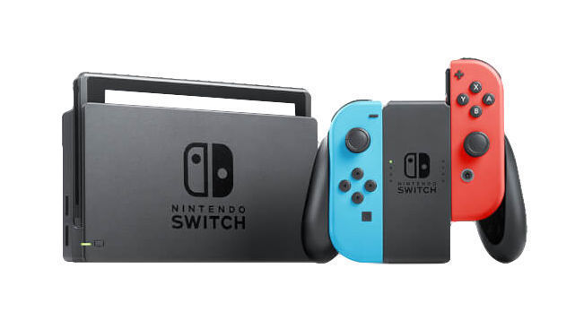 Nintendo Switch - 32GB Console Neon Red & Blue Joy-Con! Free Fast Ships
