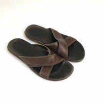 Cole Haan Air Sandals Men Size 11M Brown Leather - $19.88