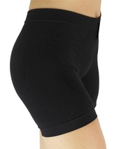 BRAND NEW JUNIORS ROSA FITNESS GYM WORKOUT SLIMMING SHORTS BLACK ONE SIZE PL840 image 2