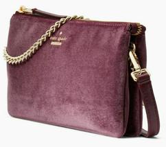 NWT Kate Spade Dawn Place Tillie Crossbody Velvet Chain Bag Purse WKRU5592 - $99.63 CAD