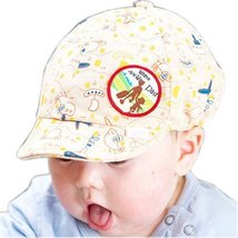 Baby Beret Toddler Sun Protection Hat Infant Floppy Cap Beige Travelling 3-15M