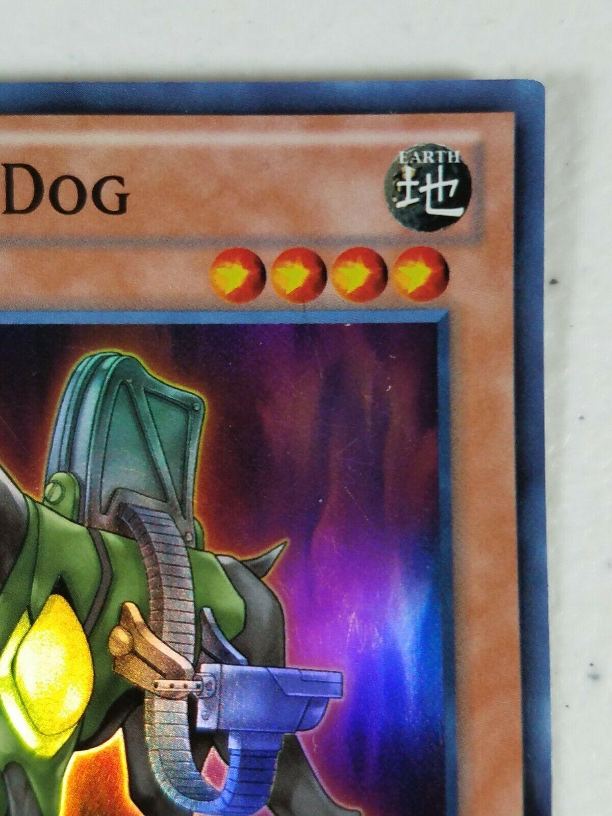 Yu-gi-oh! Trading Card - Assault Dog - DRLG-EN033 - Super Rare - 1st Ed.