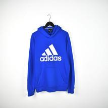 Vintage Adidas hoodie pullover sweatshirt windbreaker fleece track jacke... - $30.00