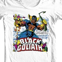 Black Goliath T shirt Dr Bill Foster Giant-Man Marvel comic book bronze age tee image 1