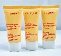 Clarins One-Step Gentle Exfoliating Cleanser with Orange Extract All Skin  3 Oz - $16.82