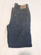 Mens Levis 550 RELAXED FIT Jeans Size 27 x 27 Measure Denim Pants Used - $19.79
