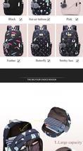 Women Backpack Travel Anti Theft Design Large Capacity Teenage Girl School Bags image 11