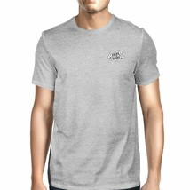 World's Best Dad Mens Grey Unique Graphic T-Shirt Gift Idea For Dad - $16.45