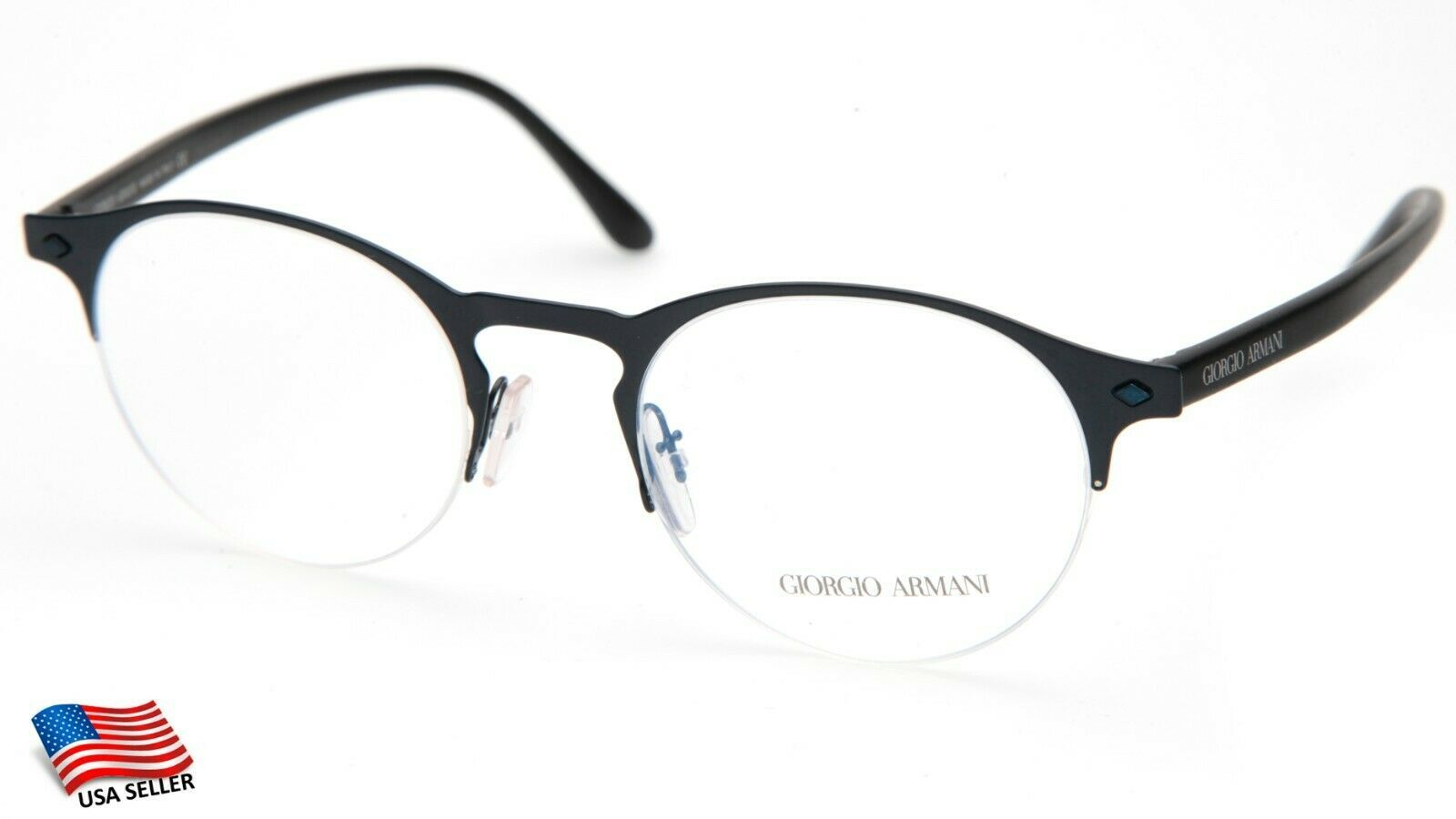 Primary image for NEW GIORGIO ARMANI AR 5064 3171 BLUE EYEGLASSES FRAME A5064 49-20-150mm Italy