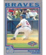 Marcus Giles ~ 2004 Topps Opening Day #8 ~ Braves - $0.20