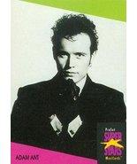 Adam Ant trading Card (Musician) 1991 Proset Musicards Super Stars #265 - $4.00