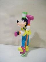 Vintage Disney Goofy Crazy Painter Pvc Figure Applause - $10.73